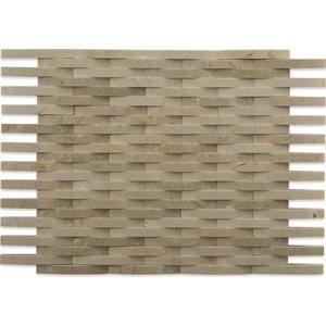 3D Weave mosaic tile