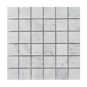 Bianco Carrara mosaic tile