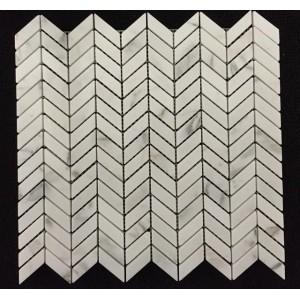 Petite Chevron Mosaics mosaic tile