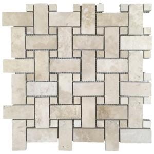 Durango Basketweave with same Dot tile