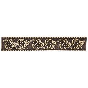 Massalia, Bullion 1 x 6 Frieze Accent Strip ceramic tile