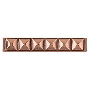Massalia, Copper 1 x 6 Pinnacle Accent Strip* ceramic tile
