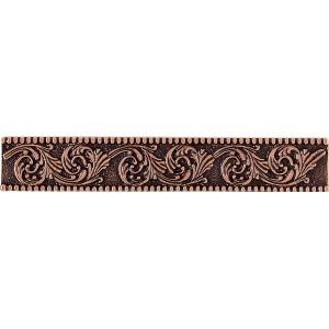 Massalia, Copper 1 x 6 Frieze Accent Strip* ceramic tile