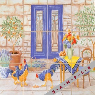French Country Ceramic Tiles
