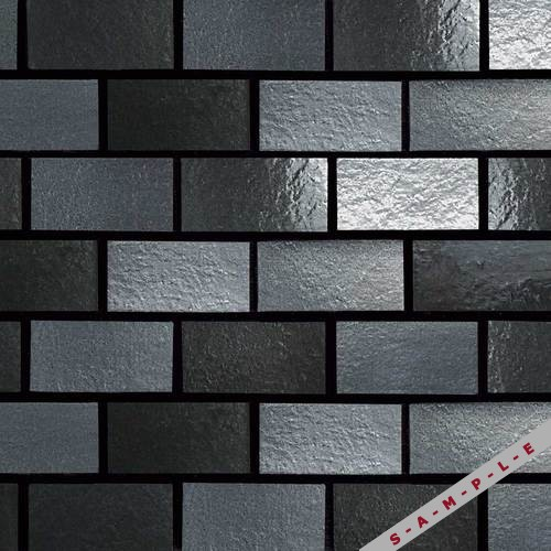 Gunmetal Field Wall Brick-Joint