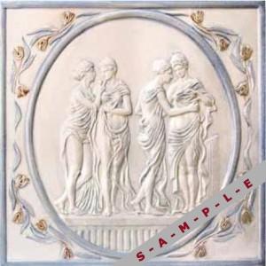 Classic ceramic tile