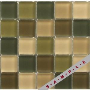 Horizont glass blend glass tile