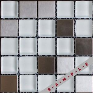 Horizont metal glass glass tile
