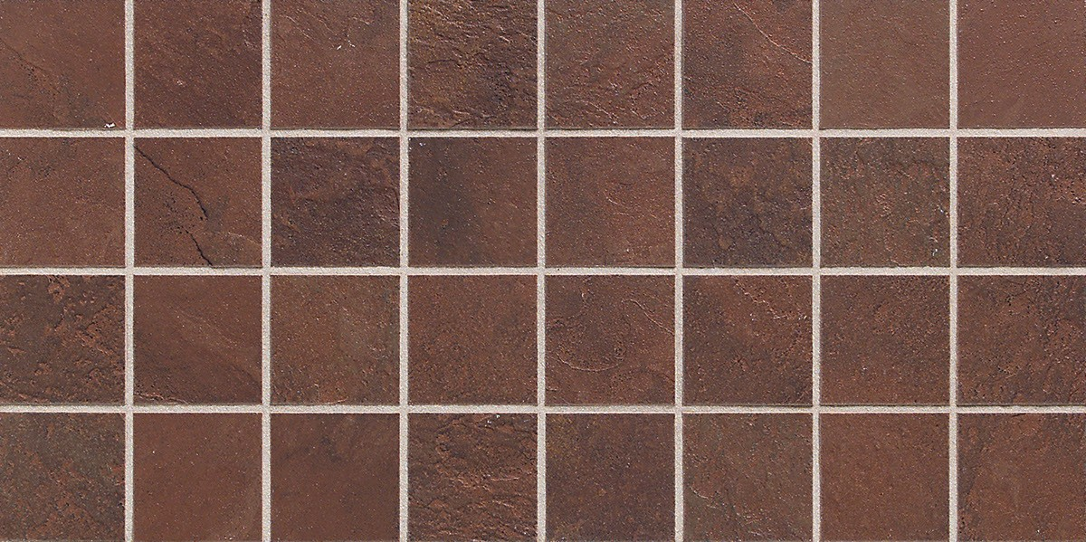 INDIAN RED MOSAIC