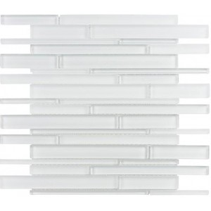 Cane Series, Super White glass tile
