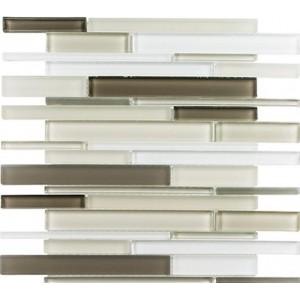 Cane Series, Cypress Green glass tile