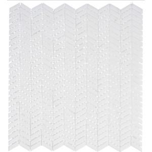 Covered Bridges Series, Atrium White glass tile