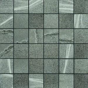 Rhin tile, Gris  Mosaic by Happy Floors
