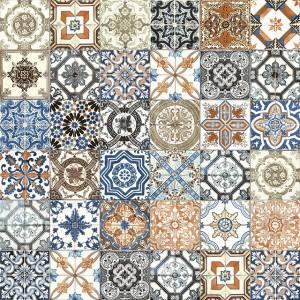 Marrakesh Mix tile, Matte by Anatolia Tile