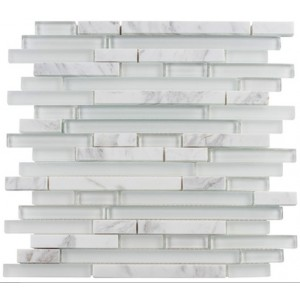 Random Brick Series, Moonscape glass tile