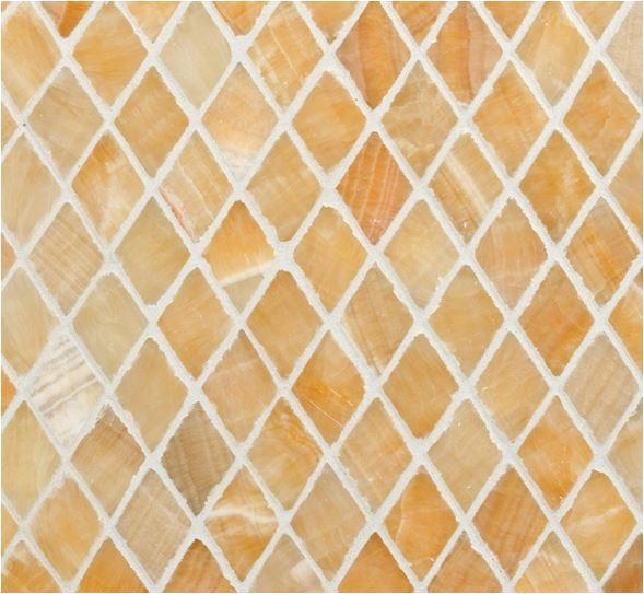Honey Harlequin Mosaic. Honey Onyx Tile ...