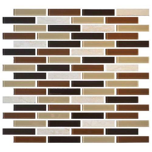 Desert Dune 5/8 x 3 Brick-joint Mosaic BP94