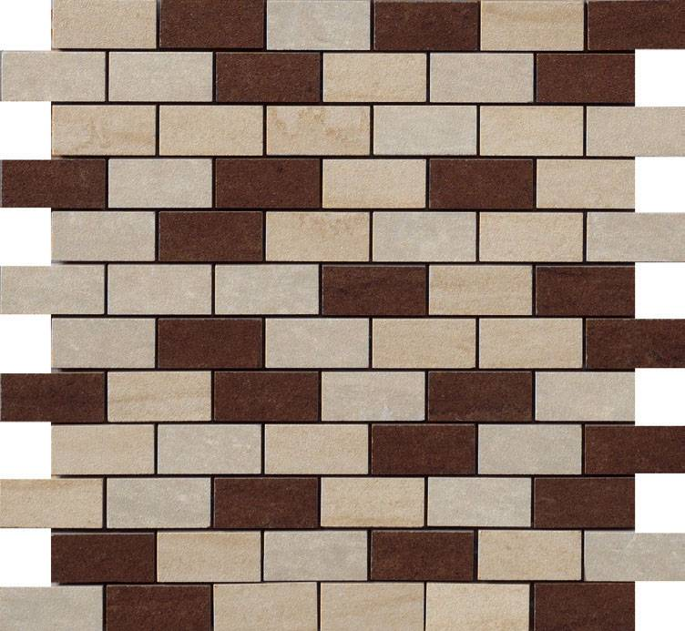 Avorio Brick Mix Beige/Marrone/Muretto