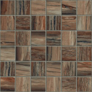 Petra Mosaic Tile Bark By Hy Floors