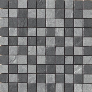 Eternity, Black/Grey mosaic mosaic tile