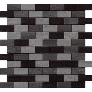 Luserna tile, Cenere/Grigio/Nero by Happy Floors
