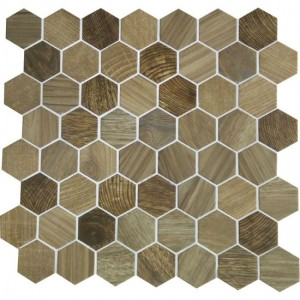 Crosswood Mosaic Tile Sandpiper Cr97 By American Olean