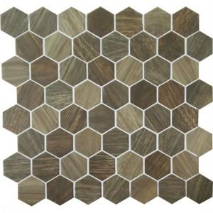 Crosswood Mosaic Tile Heron Cr98 By American Olean