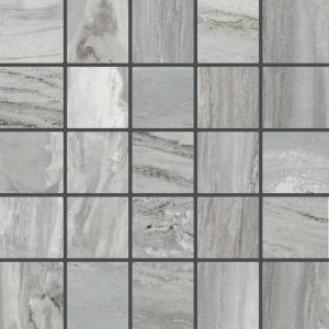 Bellagio tile, Silver by Happy Floors