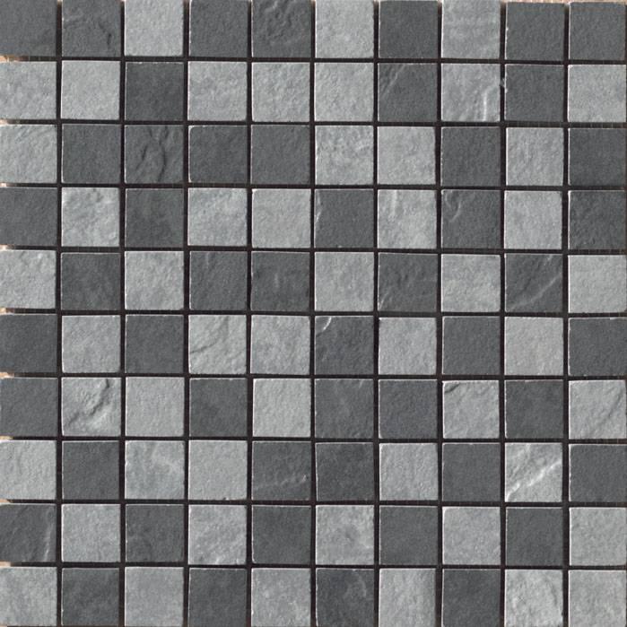 Black/Grey mosaic