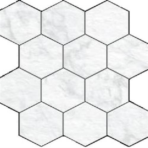 Statuario Hexagon Mosaic