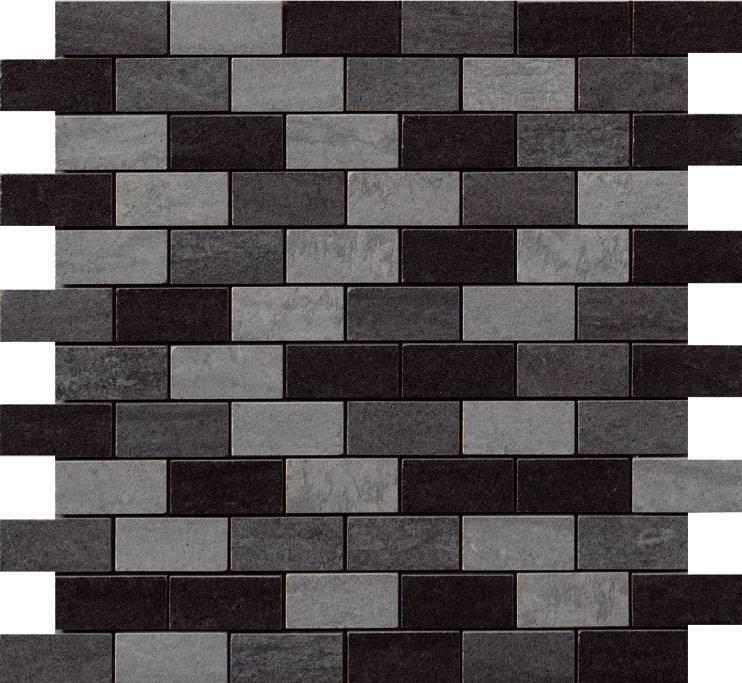 Brick Mix Cenere/Grigio/Nero