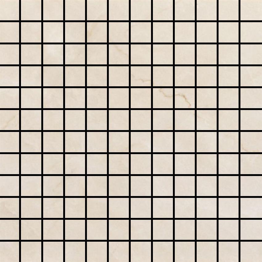 Cream Glossy mosaic