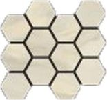 Crema Hexagon Mosaic