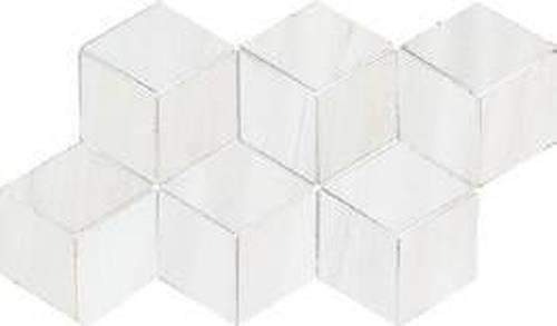 Dolomite Mosaic White Hex
