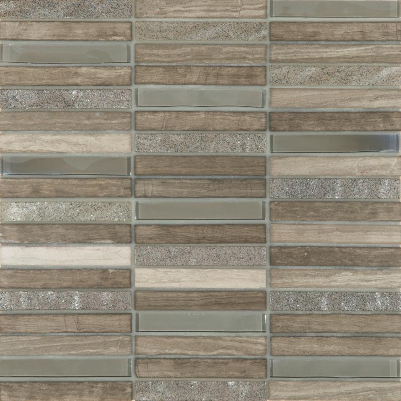 Grey Linear mosaic
