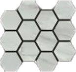 Grigio Hexagon Mosaic