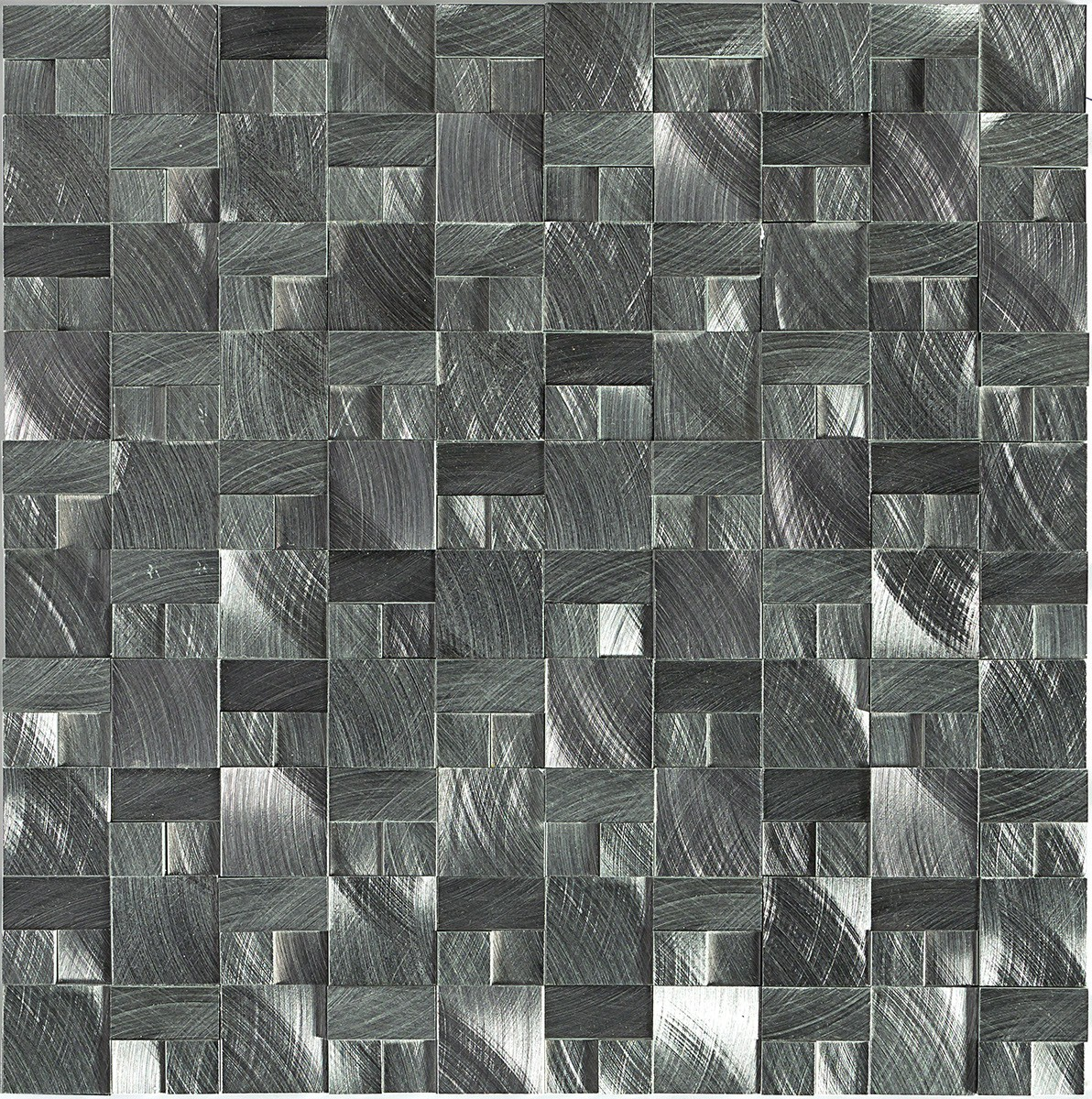 ST72 Gunmetal Mosaic 3d block