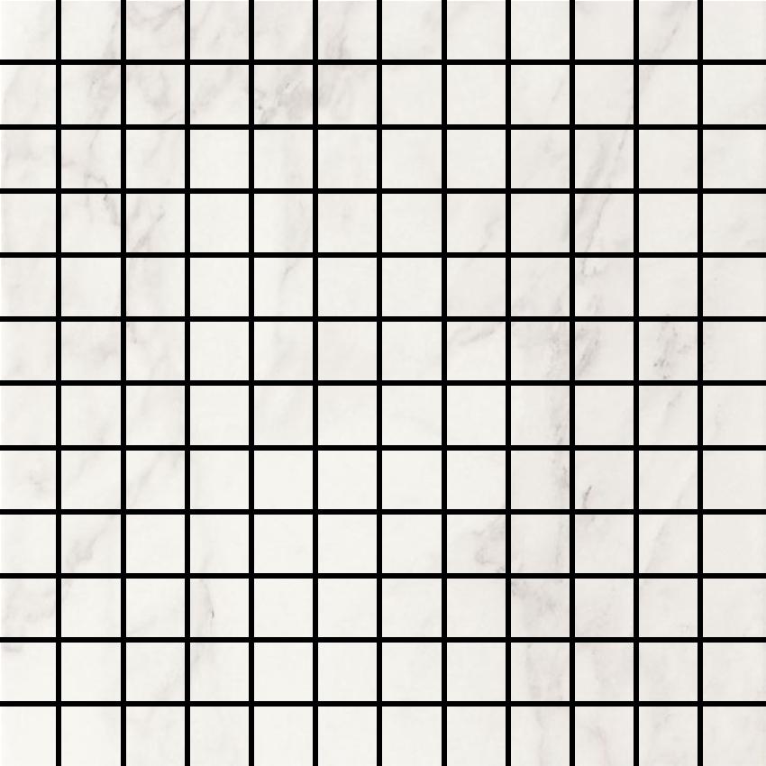 White Glossy mosaic