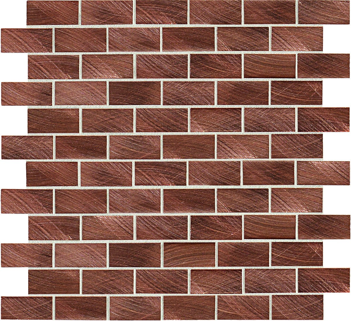 ST71 Copper Mosaic brick joint