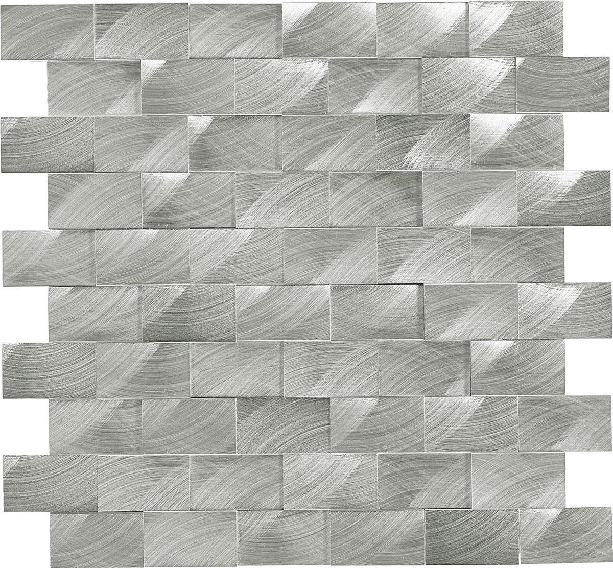 ST70 Steel Mosaic 3d brick joint