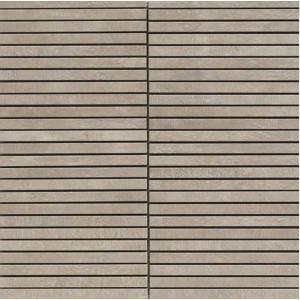 Taupe black stripes