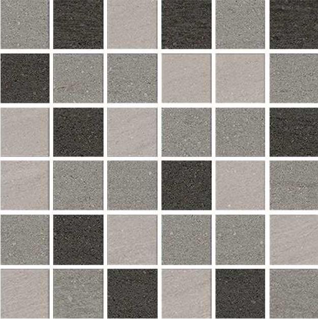 Mix Neutral Slate Raven Mosaic
