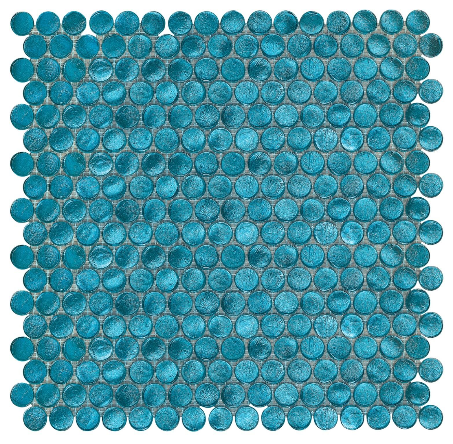 Interglass Penny Round Mosaic American tiles. Interceramic. Where to buy