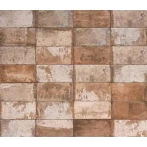 Havana brick porcelain tile