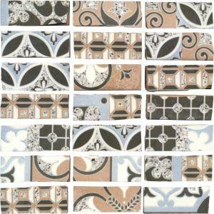 AB Abbazie tile, Notre Dame Mosaico by Del Conca