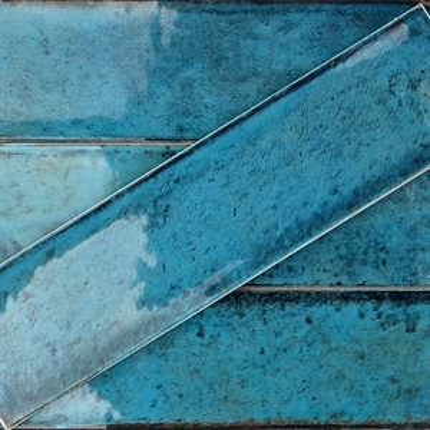 ALCHIMIA tile, Blue by Soho Tiles