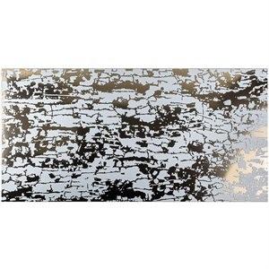 ART ABSTRACT tile, Bianco by Soho Tiles