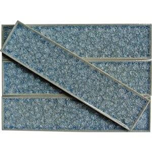ART GLASS tile, Blue Sea by Soho Tiles