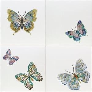 ARTISTRY tile, Butterflies by Soho Tiles