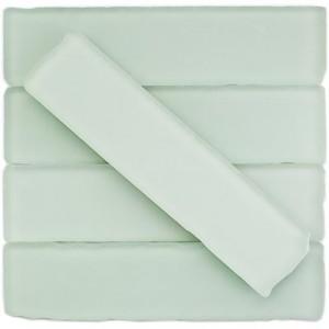 BEACH GLASS tile, Mavericks White by Soho Tiles